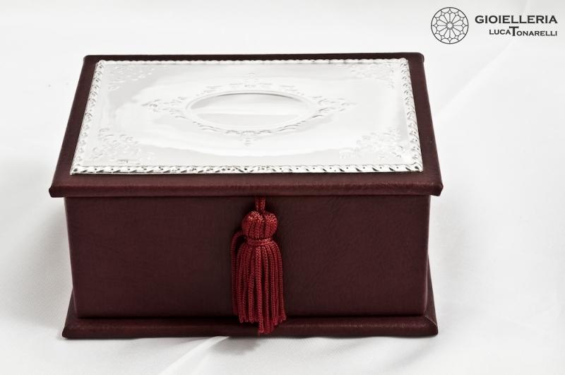 Bauletto portagioie argento 3146 cofanetti porta gioie - Portagioie argento ...