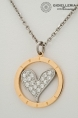 Sweet Year steel necklace s0482