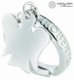 Angels  Roberto Giannotti Ring silver woman Adjustable gia79