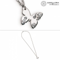 Nomination steel butterfly woman necklace swarovski 021323 001