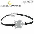 Silver Bracelet Roberto Giannotti angels woman silver microlighting gia104